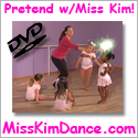 Pretend with Miss Kim My Wife's Children's Dance and Creative Movement DVD