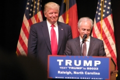 Donald Trump and Senator Bob Corker (R-TN)