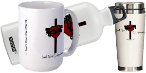 Sacred Heart I Will Not compromise Products