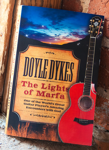 "Doyle Dykes released his first book: ""The Lights of Marfa"""